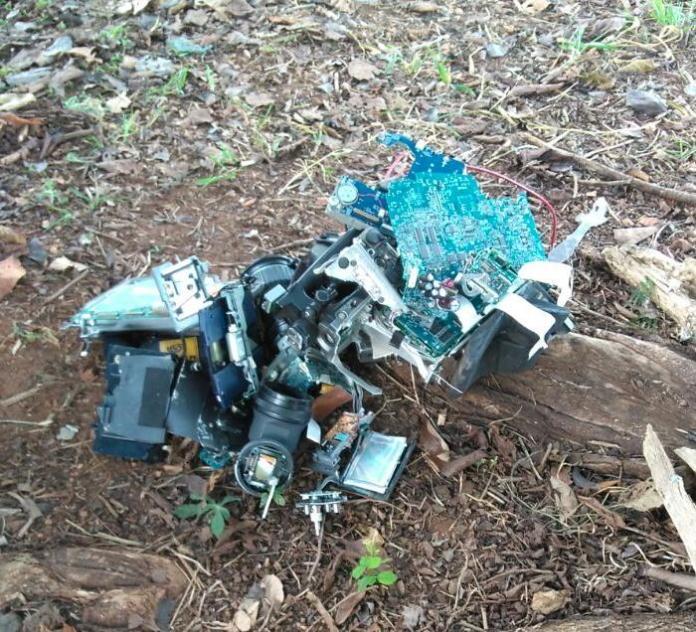 EPTV camera quebrada